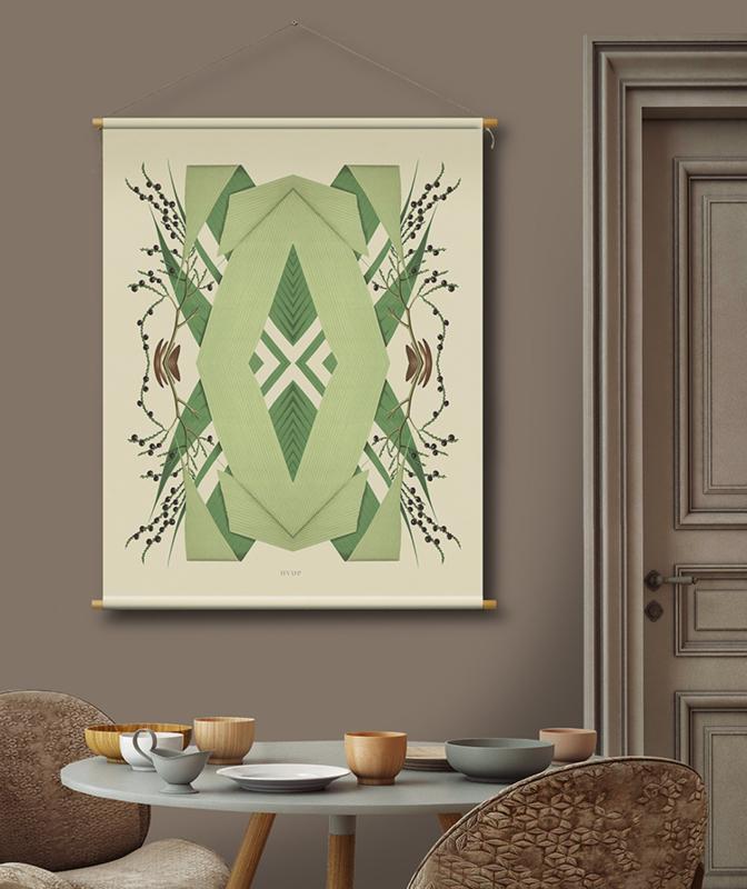 Botanische wanddecoratie T76