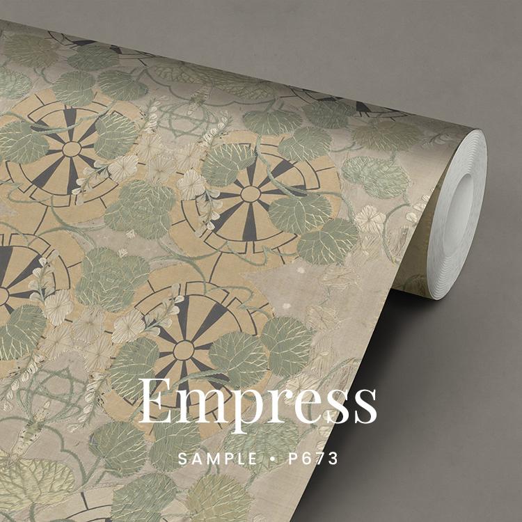 Empress behang / Etnisch Boheems behang