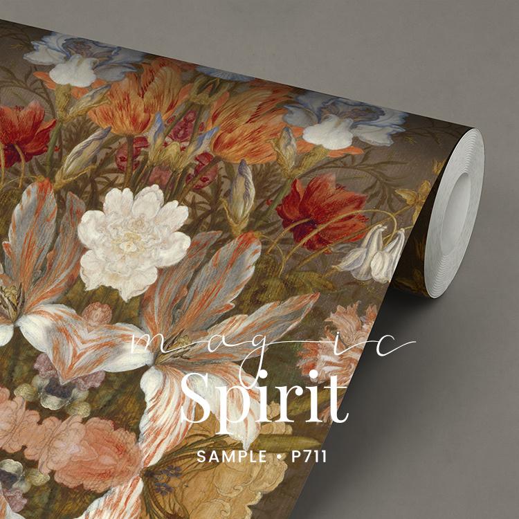 Magic Spirit / Botanisch Bloemen behang