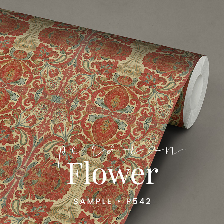 Persian Flowers / Etnisch Oosters behang