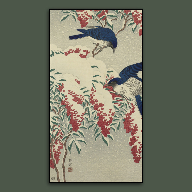 BLUE BIRDS  / OHARA KOSON
