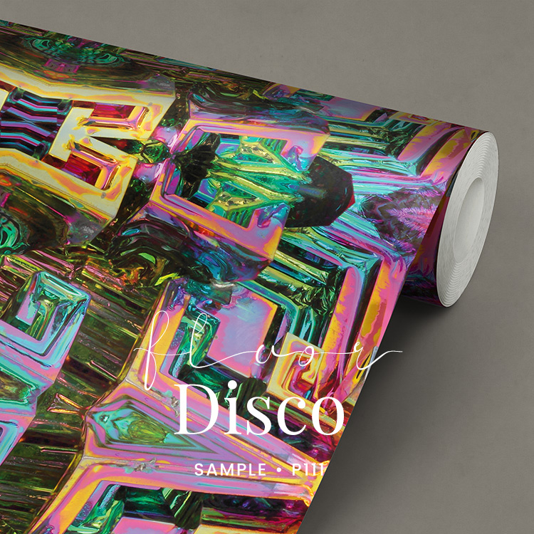 Fluor Disco / Glamour Chique Party behang