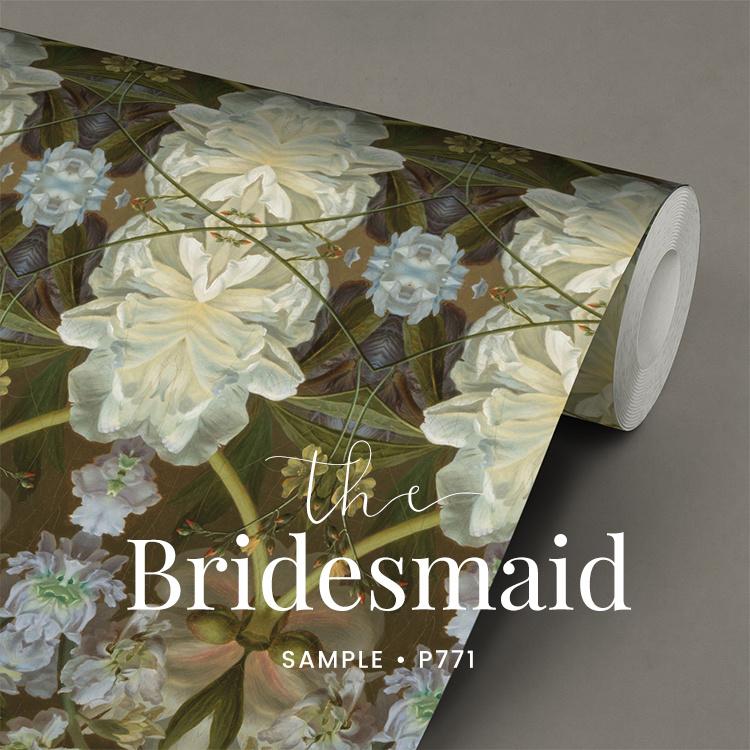 The bridesmaid / Romantisch behang