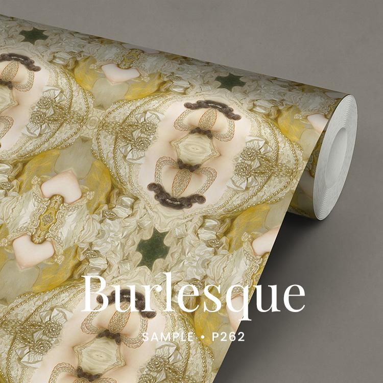 Burlesque  / Glamour Chique maximalistisch behang