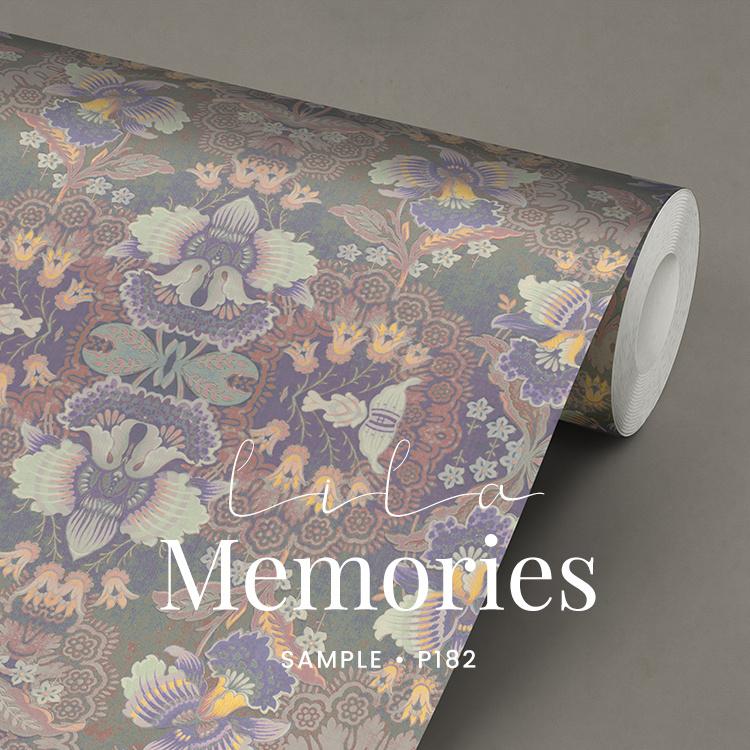 Lila Memories / Klassiek Romantisch behang