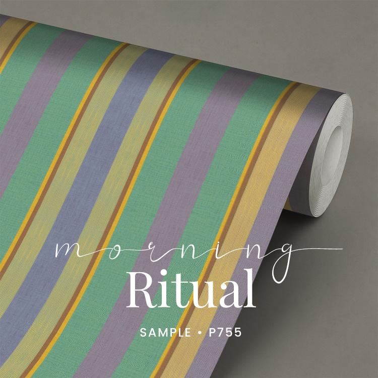 Morning Ritual / Strepen behang