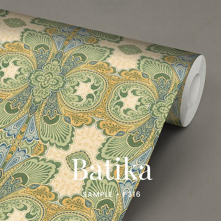 Batika   / Klassiek Art Nouveau behang