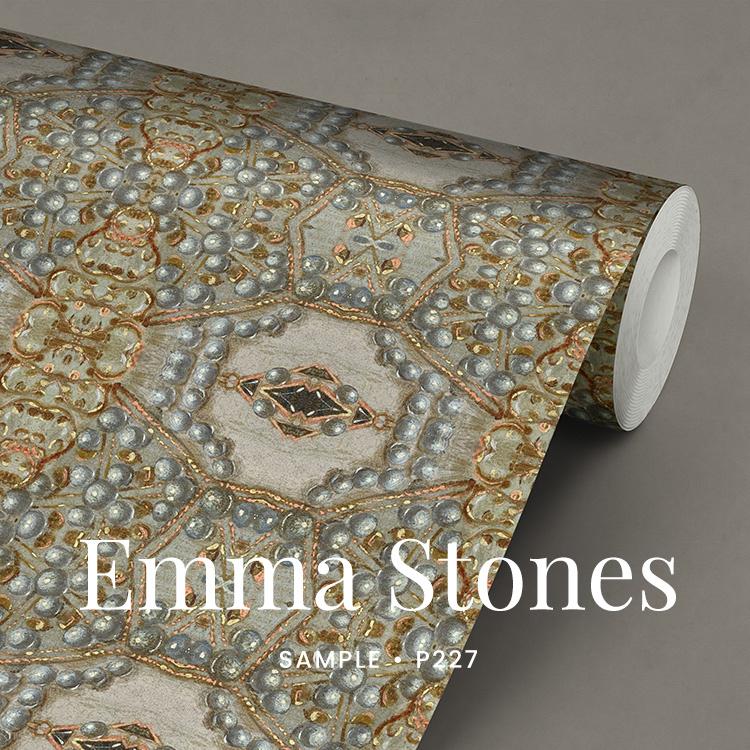 Emma Stones / Klassiek barok behang