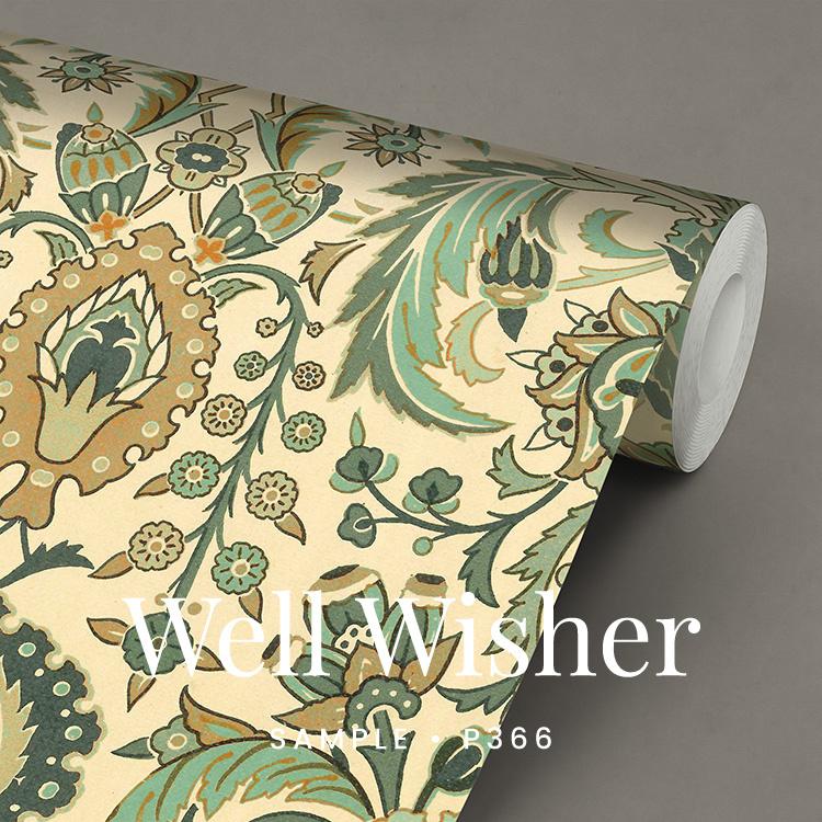 Well Wisher / Klassiek Botanisch  behang