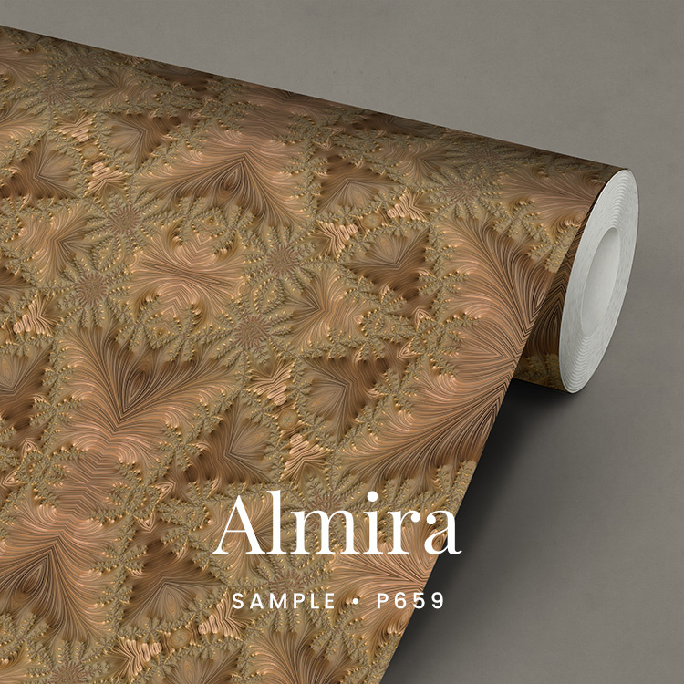 Almira  / Glamour Chique maximalistisch behang