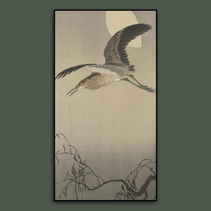 HERON FLYING  / OHARA KOSON