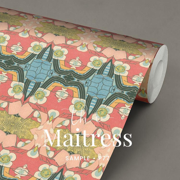 The Maitresse / Japans behang