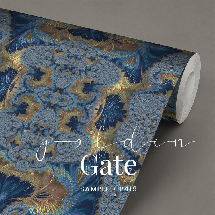 Golden Gate / Glamour Chique Maximalistisch behang