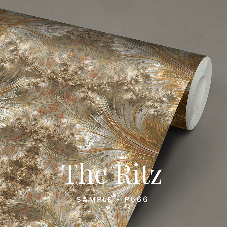 The Ritz / Glamour Chique maximalistisch behang