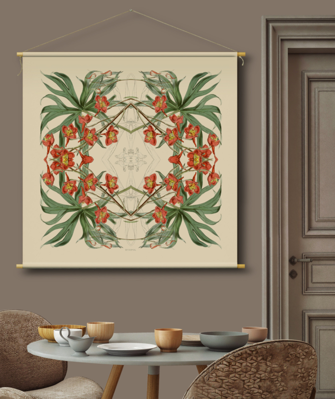 TEXTILE WALLDECORATION T9