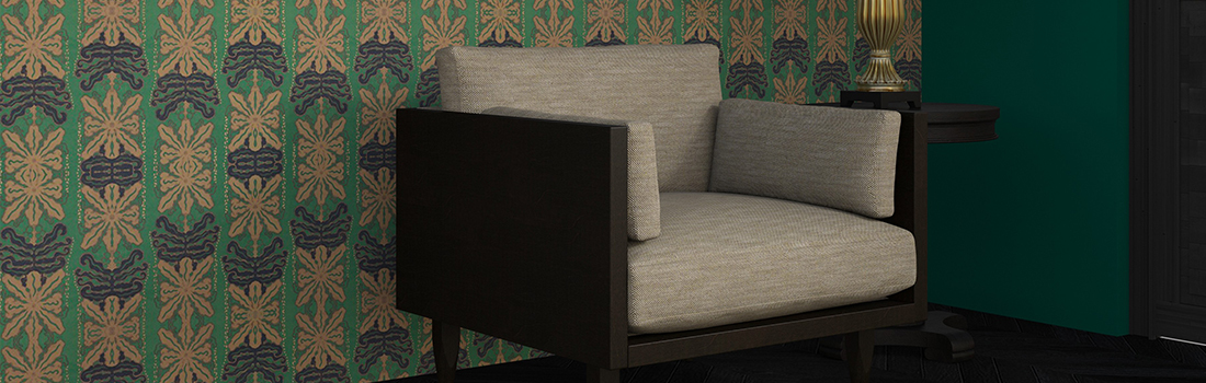 tailored historical wallcovering