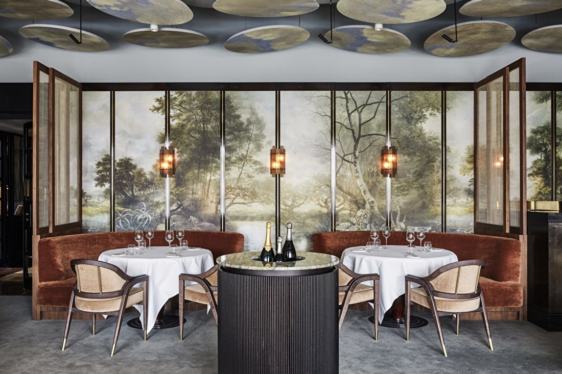 Landcape wallmural art design Hotel