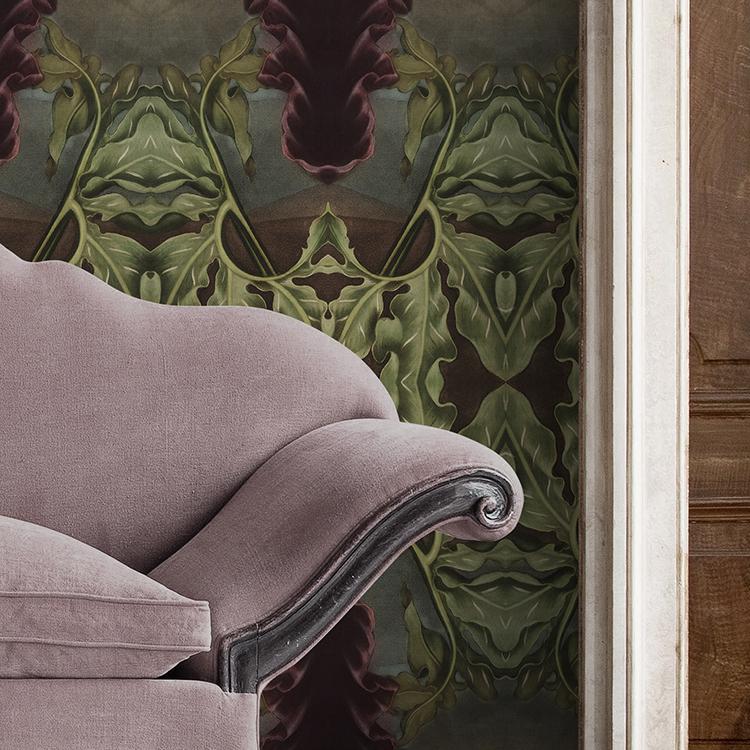 Art Nouveau wallpaper Hotel