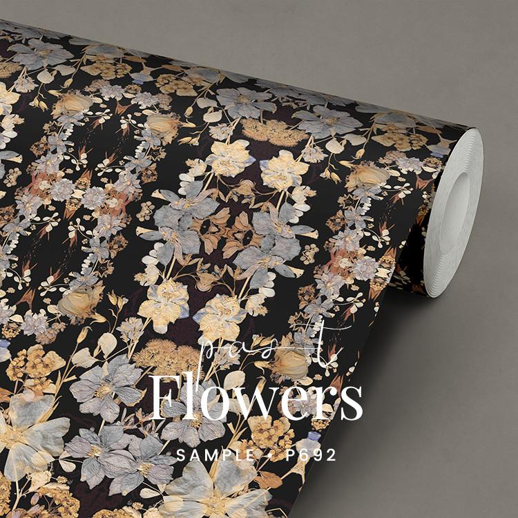 bloemen behang arnhem