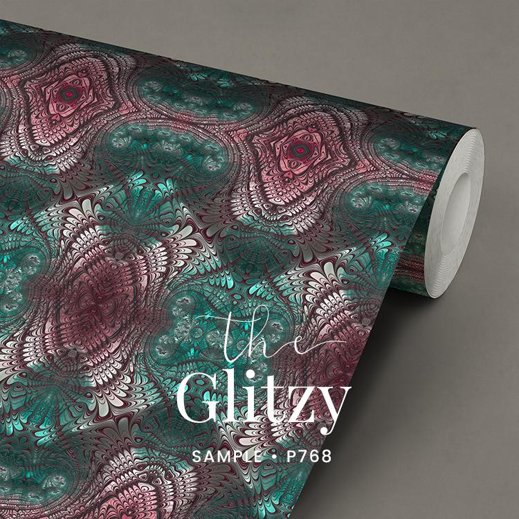 Glitter en Glamour behang