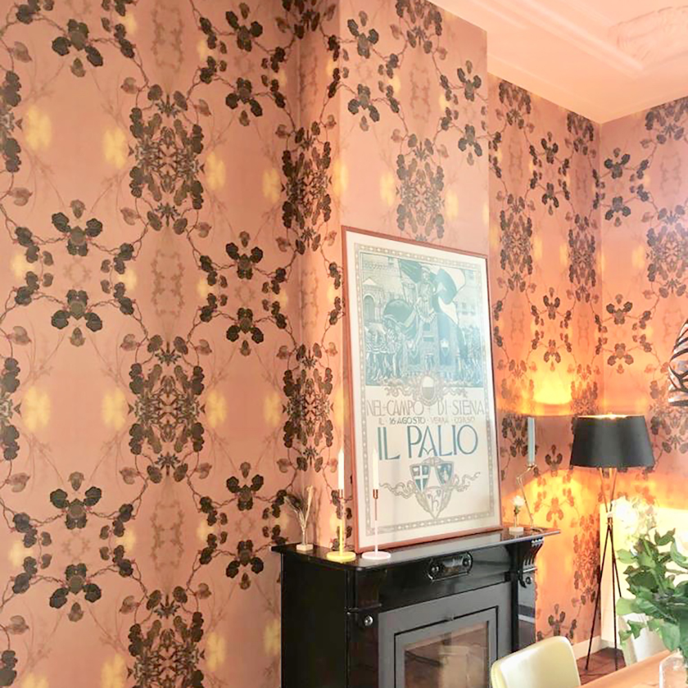 Chines wall covering