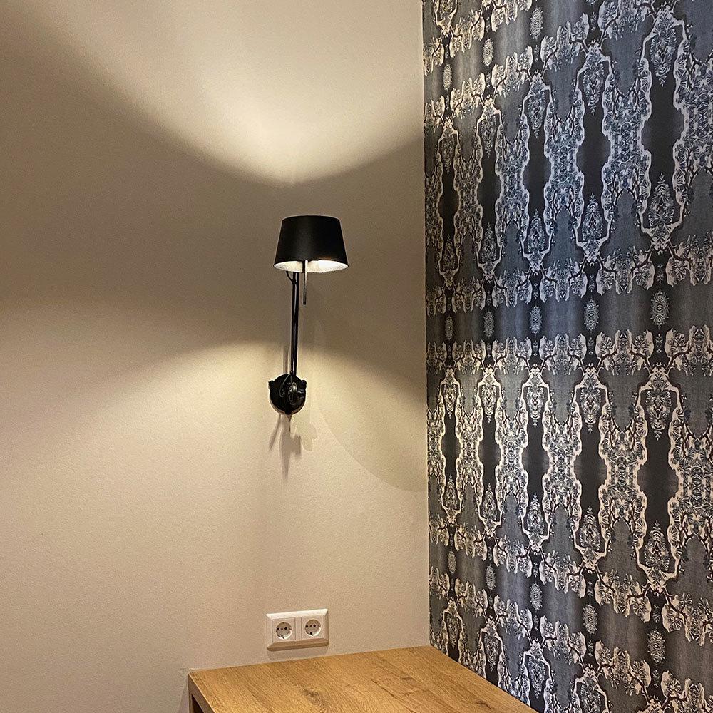 Badhotel behang