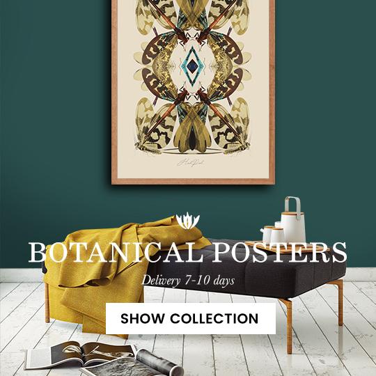 botanical posters dutch designer