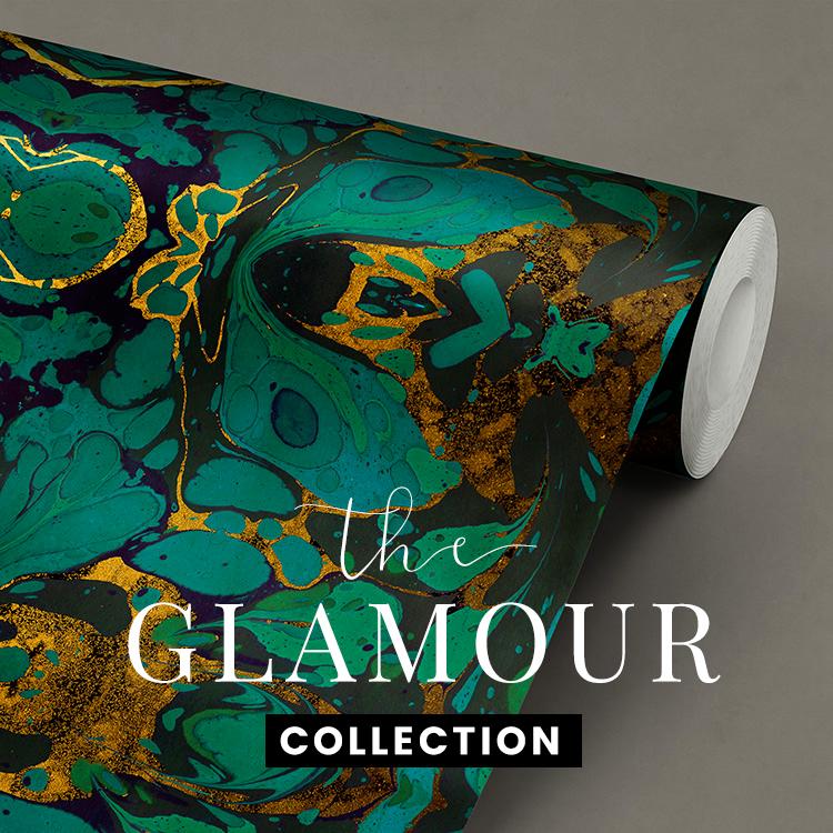 Glamour chique stijlvol behang