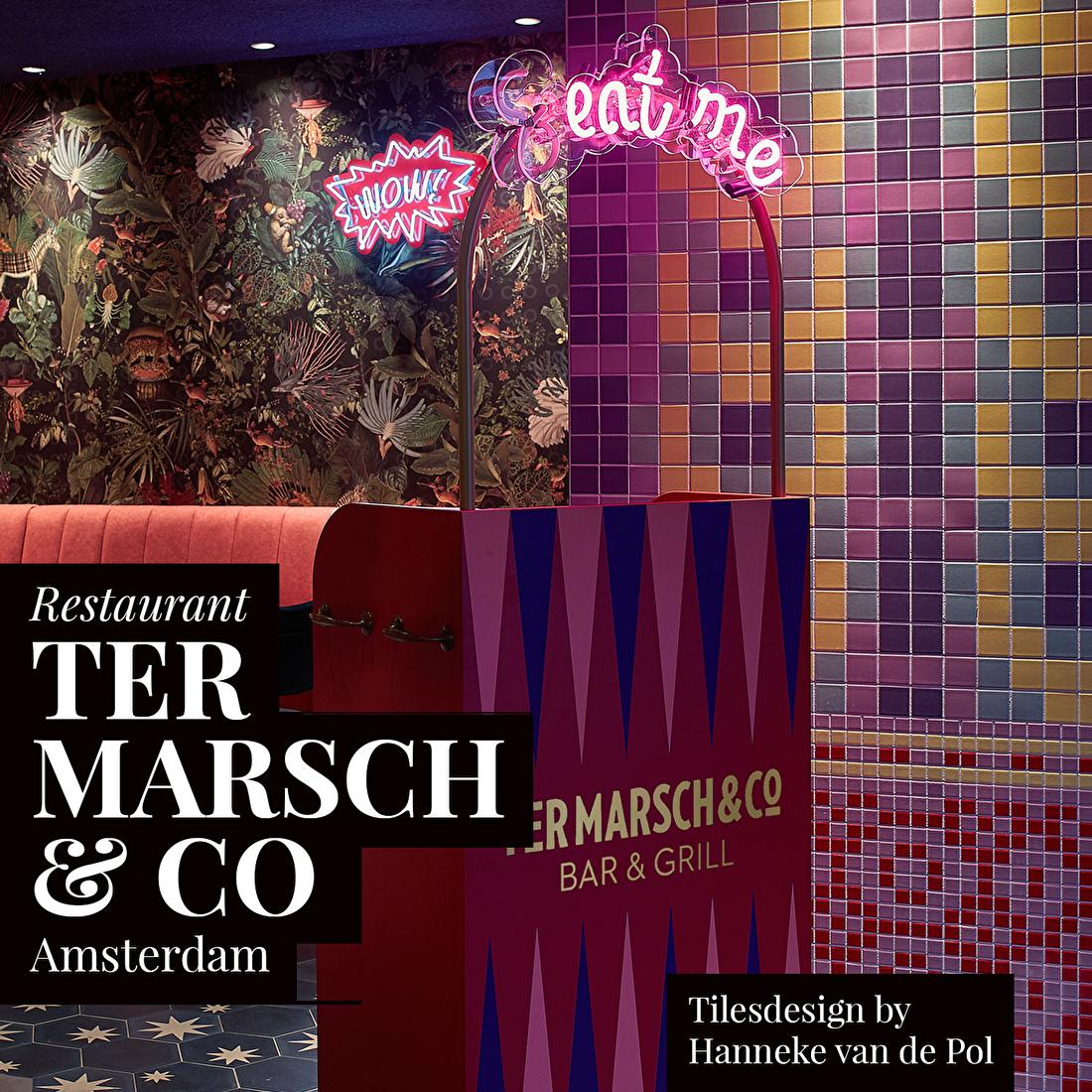 Ter Marsch& Co, Bloemenmarkt Amsterdam