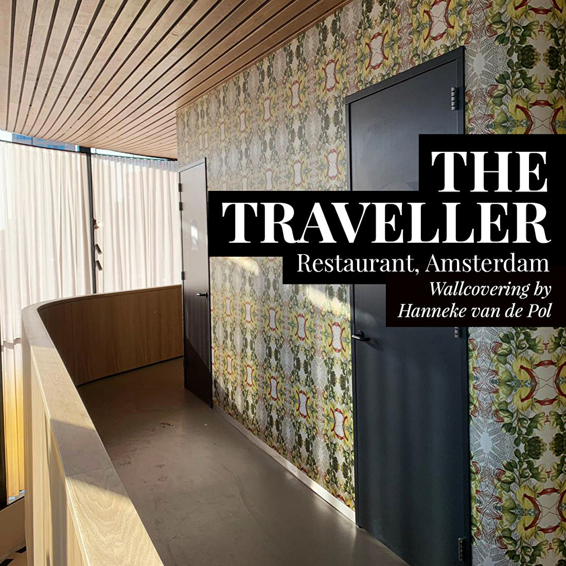 The traveller interior wallcovering