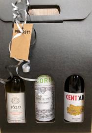 Wijnpakket wit  of BBQ pakket vanaf 25 euro