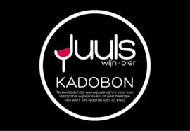 Kadobon 30 euro