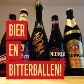 Bier en bitterballen!