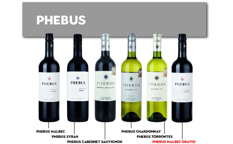 Phebus Actie 5+1 gratis