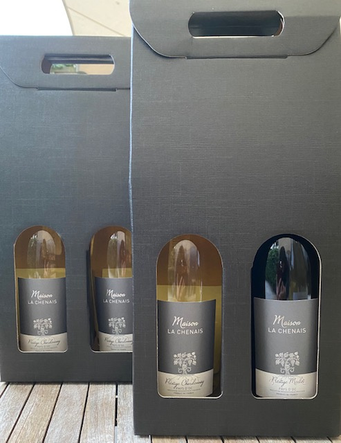 La Chenais Chardonnay en merlot