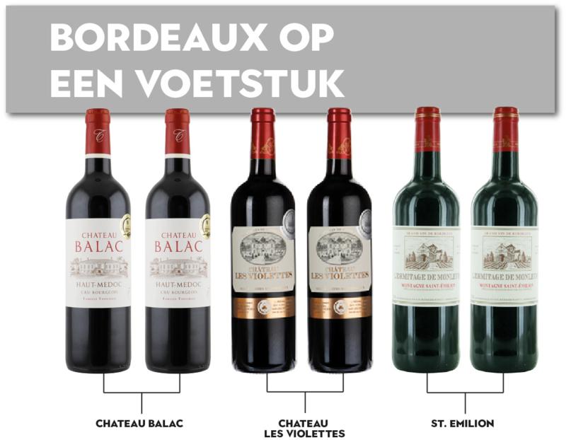 Bordeaux op een voetstuk!