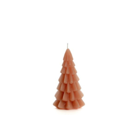 Kerstboom kaars brique klein