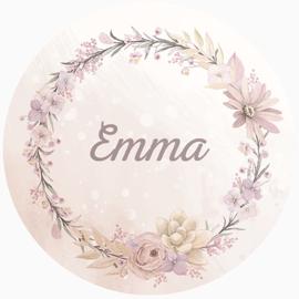 Sticker Emma Spring Large