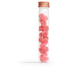 Pet buisje met rosé dop