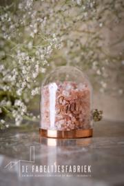 Globe klein koper/rosé