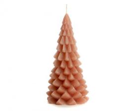 Kerstboom kaars brique groot