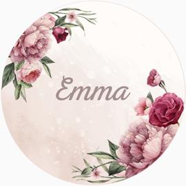 Sticker Emma Summer Large