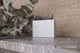 Blokje zeep wit per 5 stuks