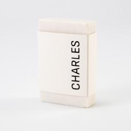 Wikkel blanco wit per 5 stuks