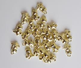 Hangertje goud dino