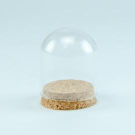 Globe glas  kurk klein