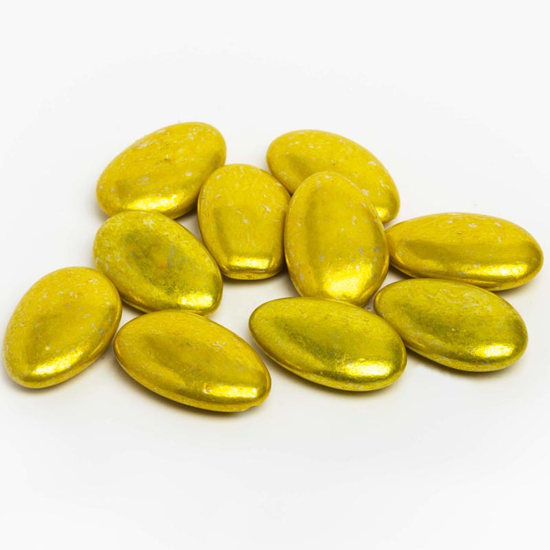 Dragee metallic goud