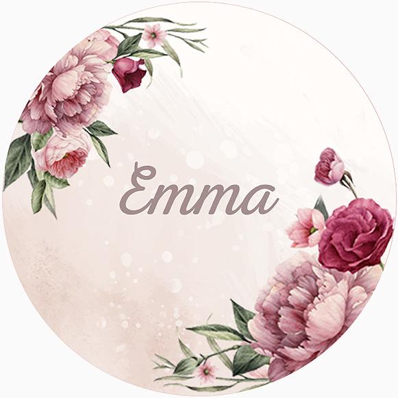 Sticker Emma Summer Small