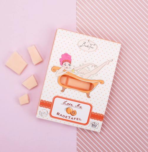 Badchocolade Perzik
