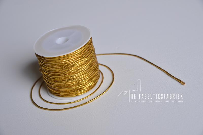 Elastische koord goud